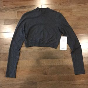 Lululemon Kitsilano Mock Long Sleeve